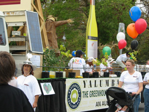 Yalumba's award-winning float, 2007